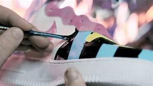 peinture cuir angelus dazling adam youtube With peinture pour cuir canapé