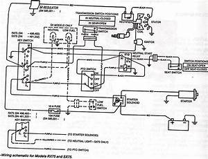 I Need A Wiring Diagram For Deere Rx75 Ride Mower K