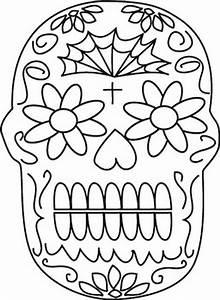 Free coloring pages of day of the dead altar