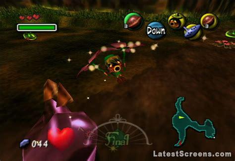 legend  zelda majoras mask screenshots