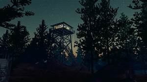 Firewatch, Video, Games, Night, Forest, Trees, Stars, Wallpapers, Hd, Desktop, And, Mobile, Backgrounds