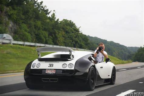 A Bugatti Veyron Camera Car