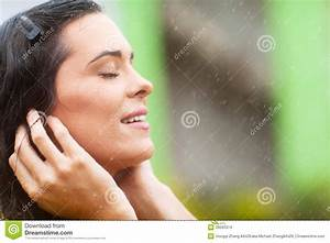 Rain Falling On Face Stock Images - Image: 28593374