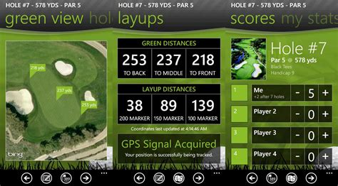 the caddie golf app is now exclusively available for nokia windows phones windows central