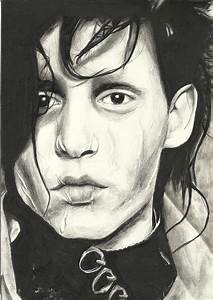 Edward Scissorhands Drawing by Sarah Stonehouse