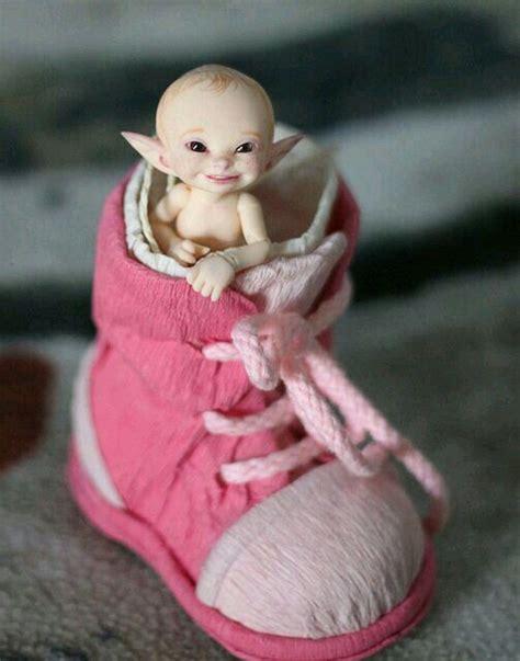 polymer clay fairies gnomes trolls