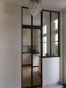 porte coulissante cloison obasinccom With porte de garage coulissante avec porte coulissante vitrée intérieure