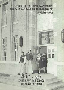 Explore 1967 St. Mary's High School Yearbook, Cheyenne WY ...