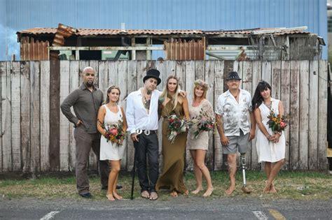 zealand  inspired bohemian wedding kate nasa