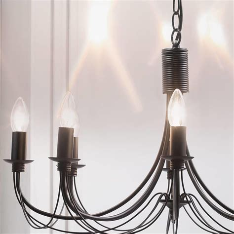 black chandeliers uk black chandelier somerset 8 light from litecraft