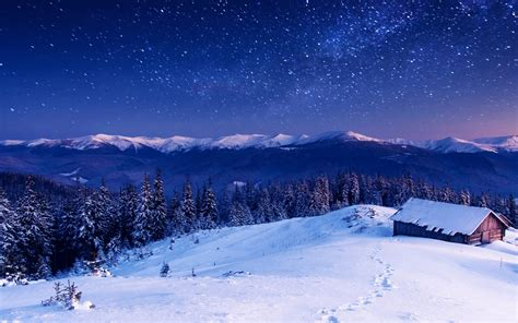 Landscape, Winter Wallpapers Hd / Desktop And Mobile
