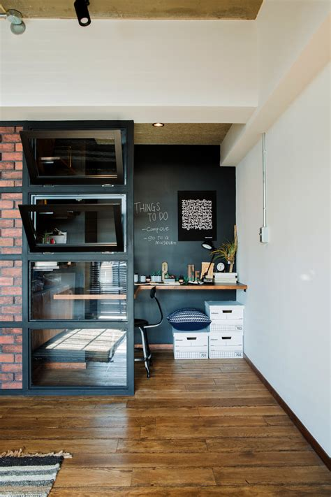 inspirational industrial home office designs