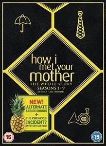 Horror Chart How I Met Your Mother Seasons 1 9 Box Set Dvd Zavvi Com