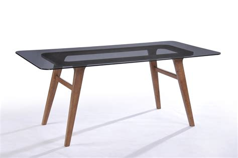 smoked glass dining table modrest zeppelin modern smoked glass dining table modern