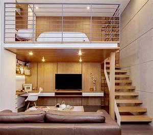 Faire Une Mezzanine : menuiserie comment cr er une mezzanine dans la maison ~ Melissatoandfro.com Idées de Décoration