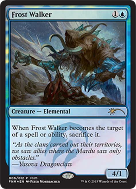 Spell Anticipate by April Through June Fnm Promo Update Magic The Gathering
