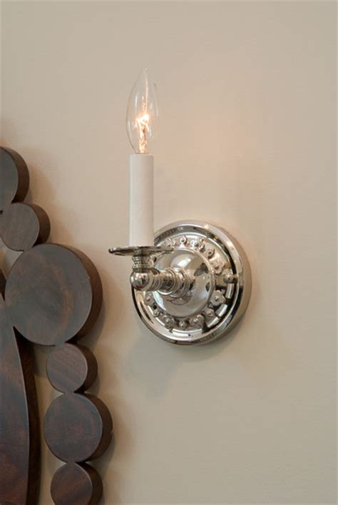 electric candle sconce up traditional milwaukee