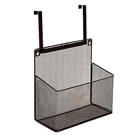 over the cabinet basket buy over the cabinet basket organizer in mesh bronze from