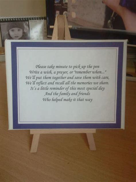 poem  guestbook wedding  wedding anniversary