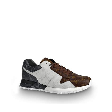 run  sneaker  brown shoes anw louis vuitton