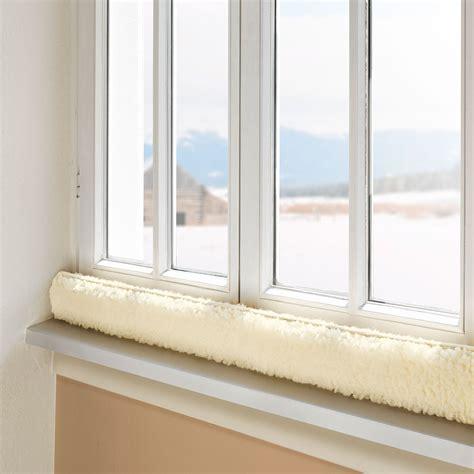 Zugluftstopper Fenster Selber Machen by Fenster Zugluftstopper Naturbelassen