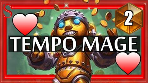 Hearthstone Decks Mage Tempo by Hearthstone Tempo Mage This Deck 2