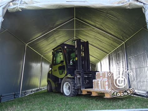 dancover gazebo storage shelter strong pvc tent heavy duty shed garden