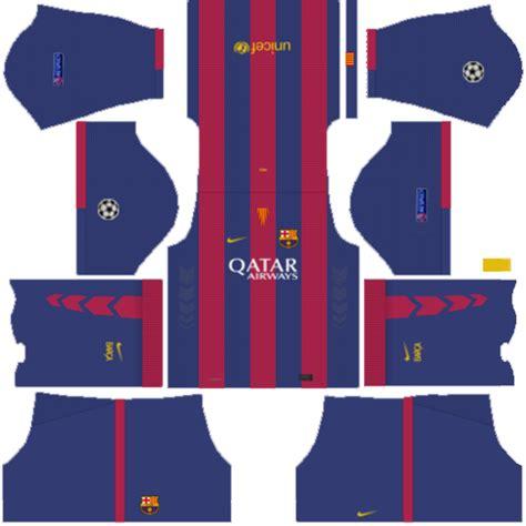 Barcelona Kits 512x512 Dream League Soccer 2017/18
