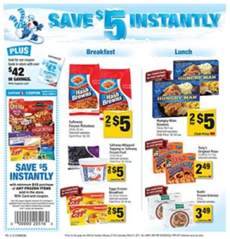 safeway update ken s dressing for 19 162 frozen food coupons