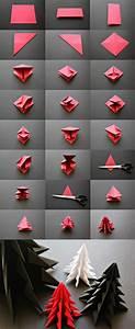 Deco Noel En Papier : 1001 id es originales comment faire des origami facile pliage papier d corations de no l et ~ Melissatoandfro.com Idées de Décoration