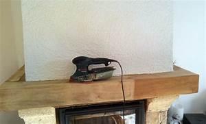 comment peindre la poutre de votre cheminee conseils et With superb peindre des poutres en bois 14 renover une maison ancienne