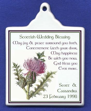 scottish wedding blessing google search wedding