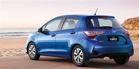 news  toyota yaris updated hatch