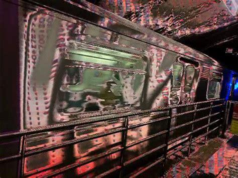 Wtf, woman, train, fight, subway, jerk, metro, tracks, pushes, railroad, underground, shoves. My Favorite Sort of Secret Underground Spot in NYC   Waddle