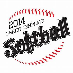 2014 softball t shirt vector download vector for Softball vector free download