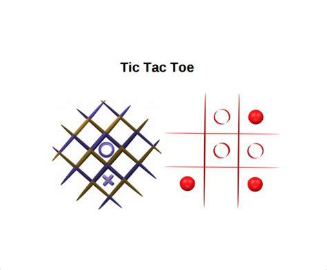 tic tac toe samples sample templates