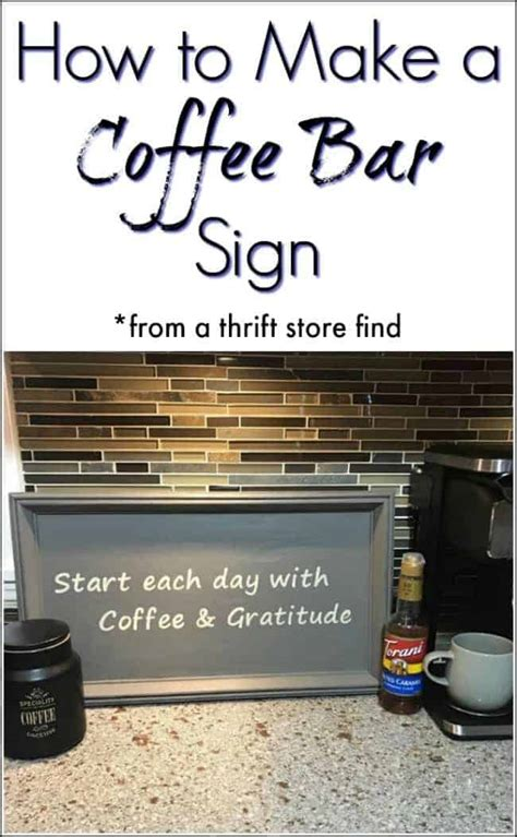 How To Make A Bar by How To Make A Coffee Bar Sign With The Cricut Explore Air