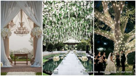 23 stunningly decor ideas for the most breathtaking indoor outdoor wedding