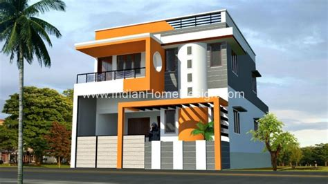 one story house plans with porch 2080 sqft house elevation design in tamilnadu style