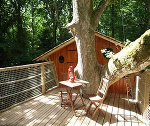 les cabanes de kermenguy cabanes dans les a cleder With chambre d hote cabane dans les arbres