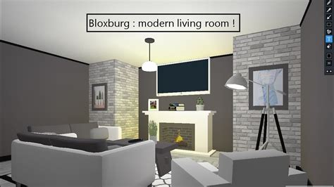 modern living room bloxburg  interior design