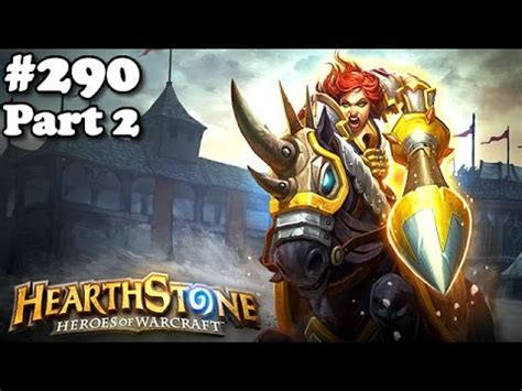 hearthstone 290 ranked deck inspire warrior control tgt