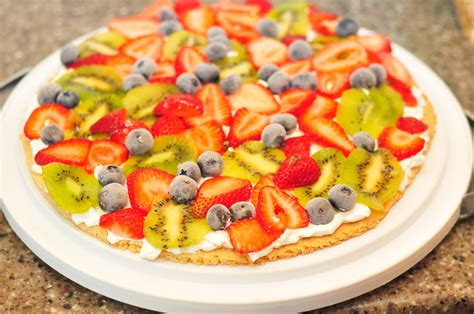 recipe easy kid friendly dessert fruit pizza sippy cup