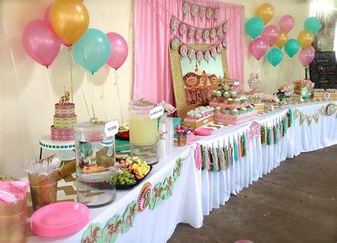 Kara's Party Ideas Carousel Cupcake Themed Birthday Party