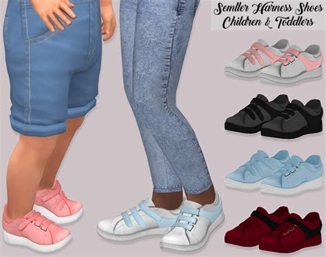 semller harness shoes children  toddlers  lumy sims