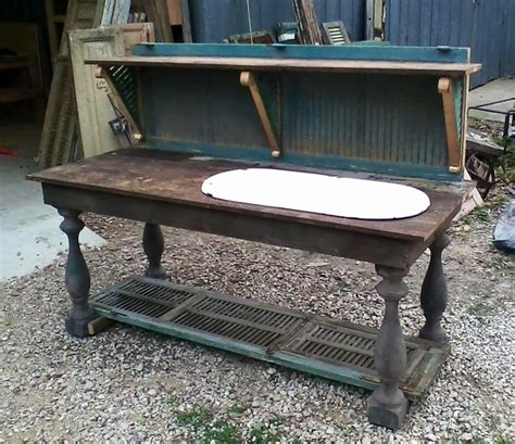 Potting Bench Custom Designed From Antique French