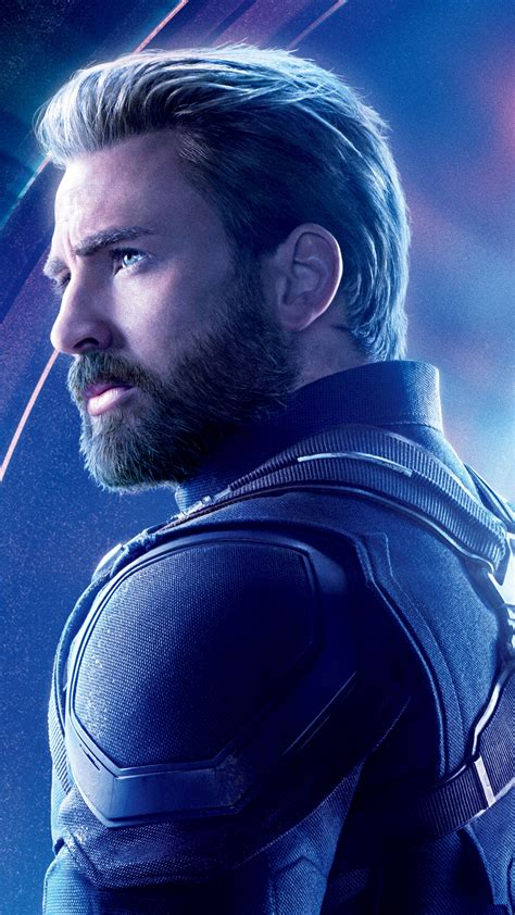 wallpaper avengers infinity war captain america chris