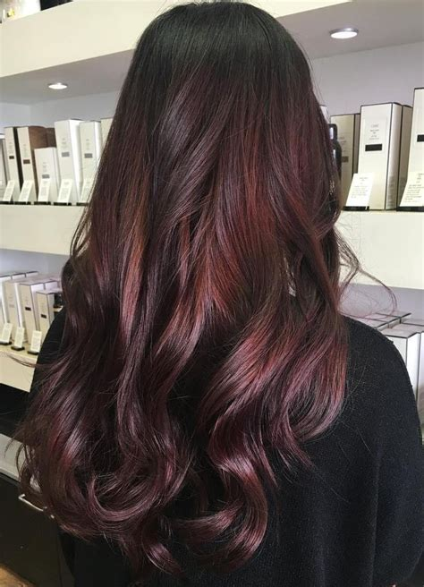 Makeup Ideas 45 Shades Of Burgundy Hair Dark Burgundy