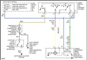 2001 Dodge Ram 1500 Wiper Motor Wiring Diagram