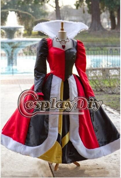 customized  princess cosplay costume queen  hearts
